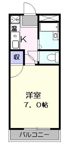 サンマンション大曽根・302号室の間取り