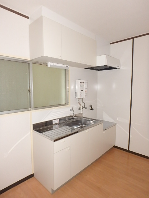 オーシマビル 402号室のキッチン