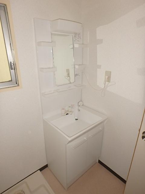 オーシマビル 402号室の洗面所