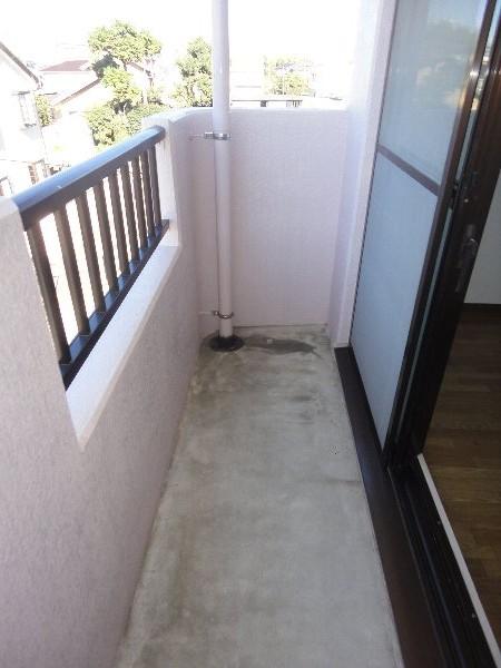 グランシャリオ 301号室のバルコニー