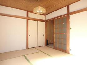 三原ハウス 201号室のリビング