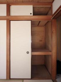 三原ハウス 201号室の収納