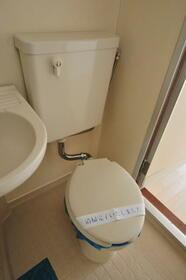 メゾン・ド・タンブール 0208号室のトイレ