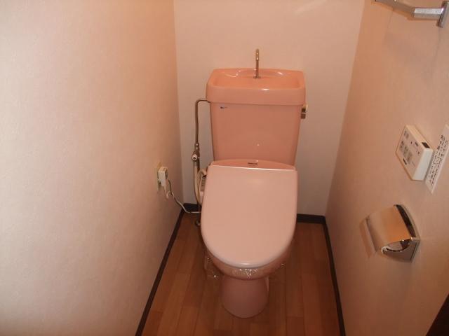 朋友レジデンス 405号室のトイレ