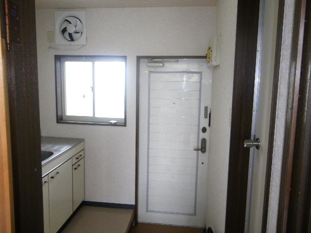 メゾンとよおか 204号室の玄関