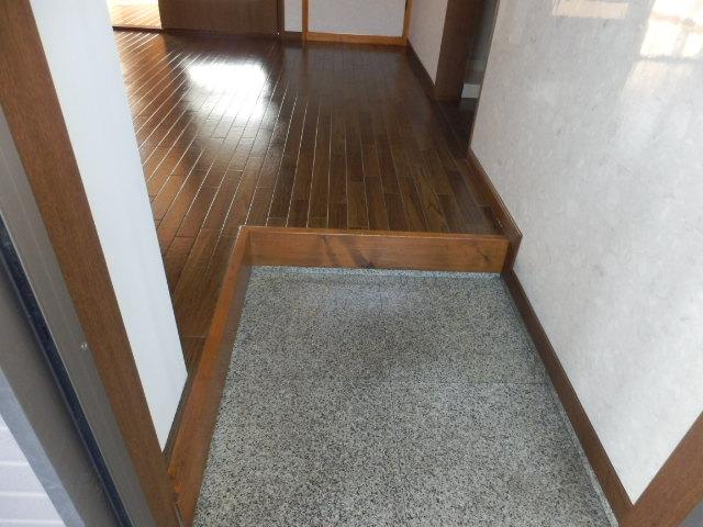 コンフォートYOU 201号室の玄関