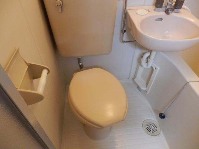 タウンハウス豊岡 105号室のトイレ