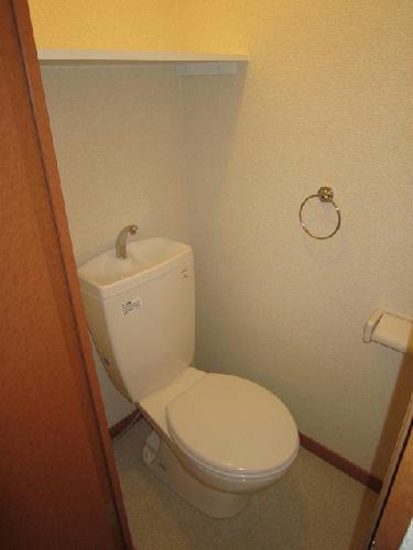 レオパレスPeace 203号室のトイレ