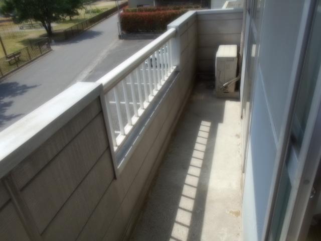 サニーハイツ原口B 202号室のバルコニー