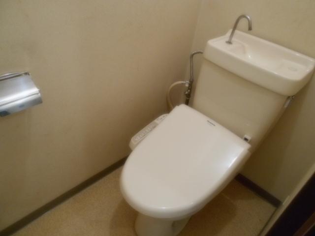 サニーハイツ原口B 202号室のトイレ