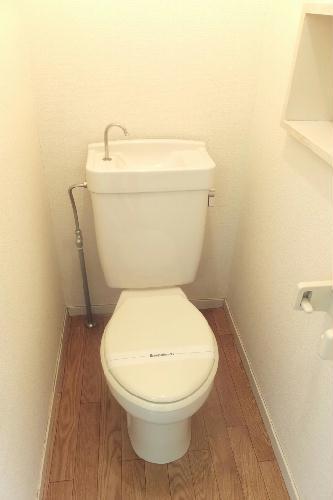 レオパレス伊勢崎第2 101号室のトイレ
