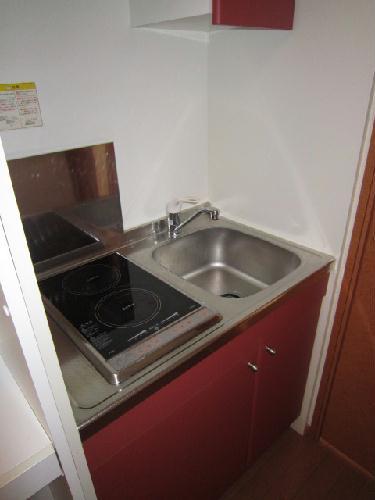 レオパレスPeace 101号室のキッチン