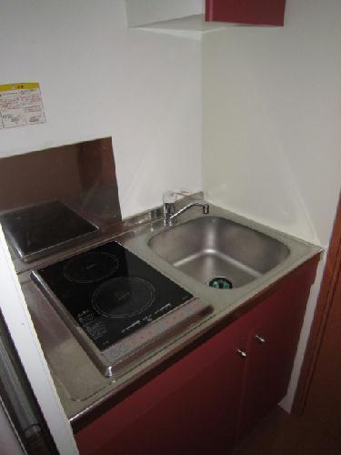 レオパレスサンブルー 108号室のキッチン