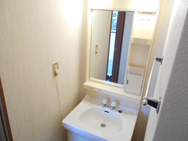 亜沙美ハイツ 201号室の洗面所
