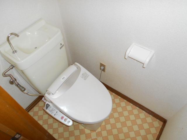 亜沙美ハイツ 201号室のトイレ