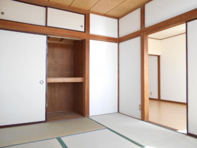 亜沙美ハイツ 201号室の収納