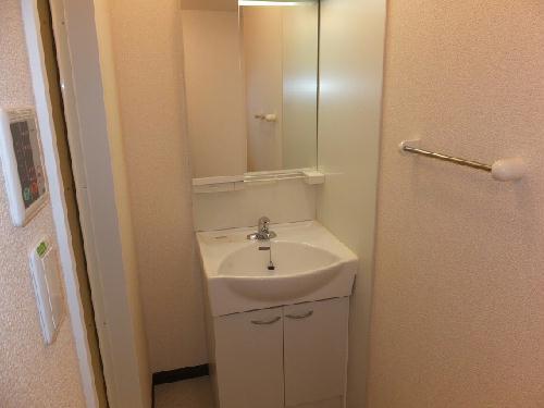 レオネクストウテナ 105号室の洗面所