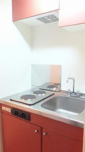 レオパレスエクセディオールⅡ 104号室のキッチン