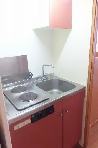 レオパレスアヴニール 204号室のキッチン