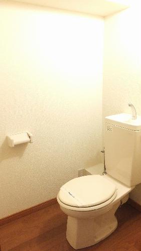 レオパレスエクセディオールⅡ 203号室のトイレ