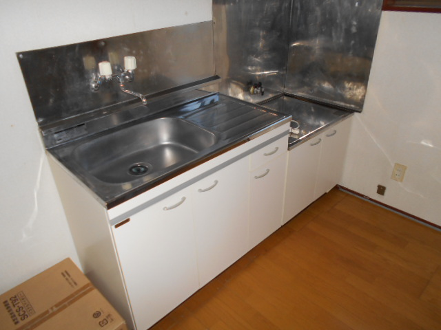 アンドウハイツⅡ A号室のキッチン