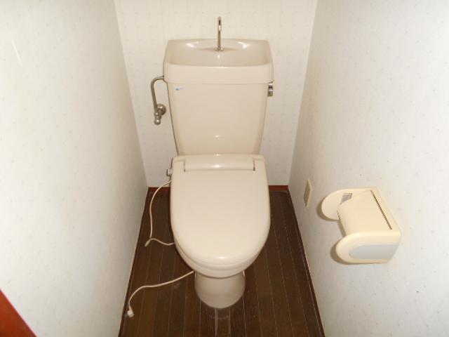 アンドウハイツⅡ A号室のトイレ