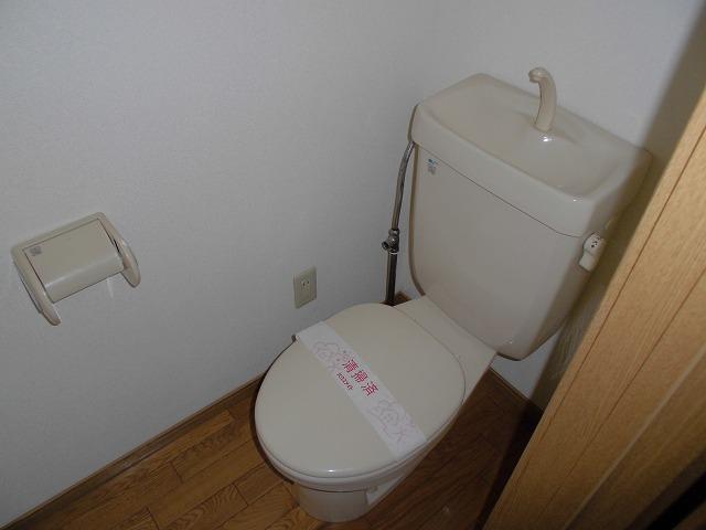 レシェンテ・M 105号室のトイレ
