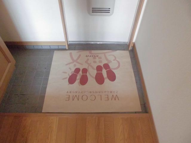 レシェンテ・M 105号室の玄関