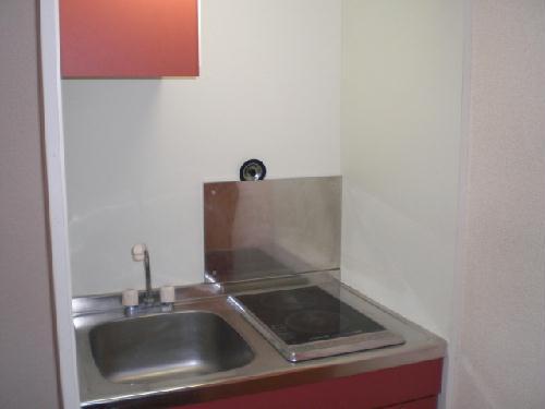レオパレス下小鳥A 201号室のキッチン
