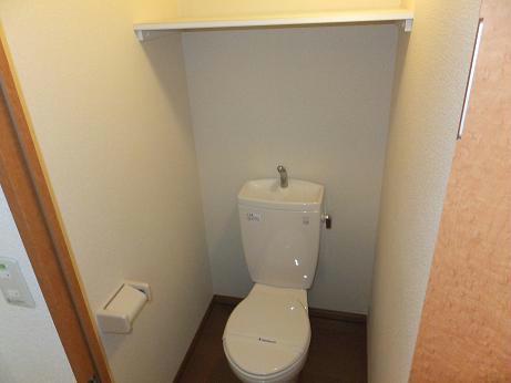 レオパレス赤堀 104号室のトイレ