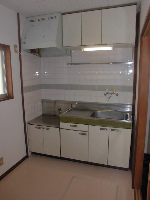 メゾンオザワ 01030号室のキッチン