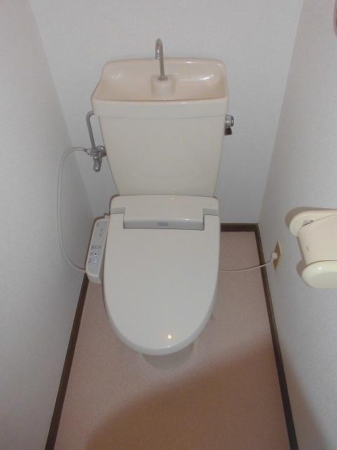 メゾンオザワ 01030号室のトイレ