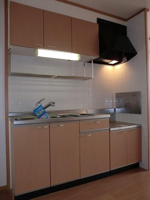 ブランシェヴィーC 02040号室のキッチン