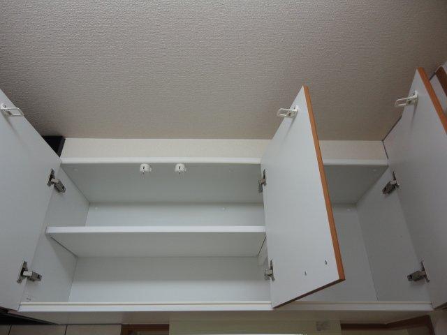 パルフェドルミナスⅢ 00201号室の収納