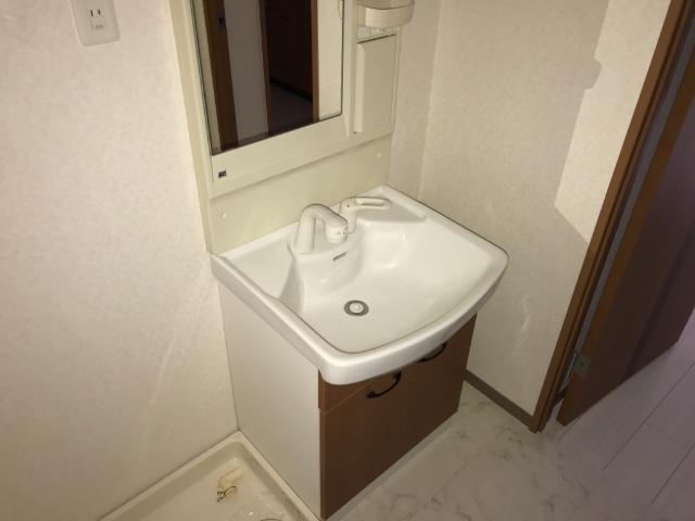 パルフェドルミナスⅢ 00201号室の洗面所