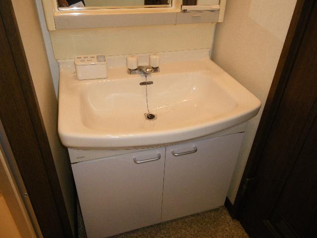 サン・ハピネス 207号室の洗面所