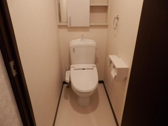 セントフィールド 107号室のトイレ