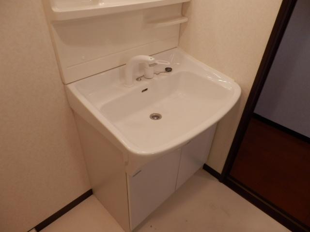 セントフィールド 107号室の洗面所