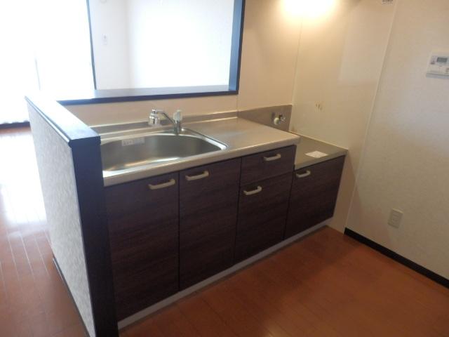 セントフィールド 107号室のキッチン