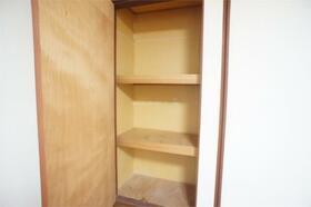ターフあガーデン 201号室の収納