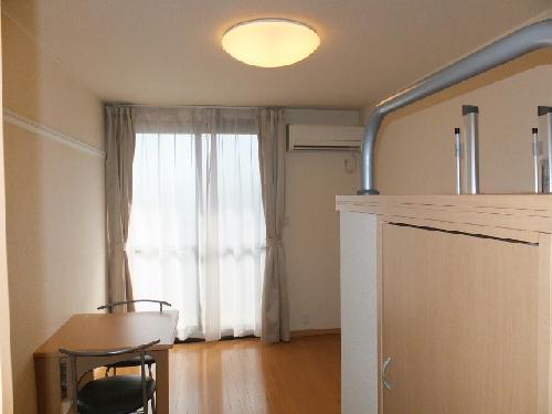 レオパレスモデラーテ 108号室のリビング