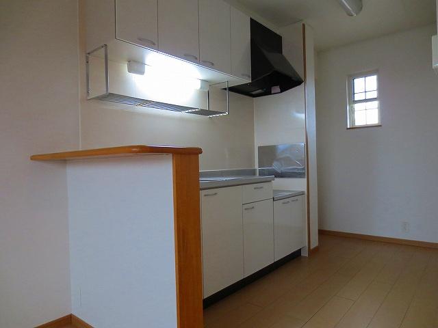 アルモニ-B 02020号室のキッチン