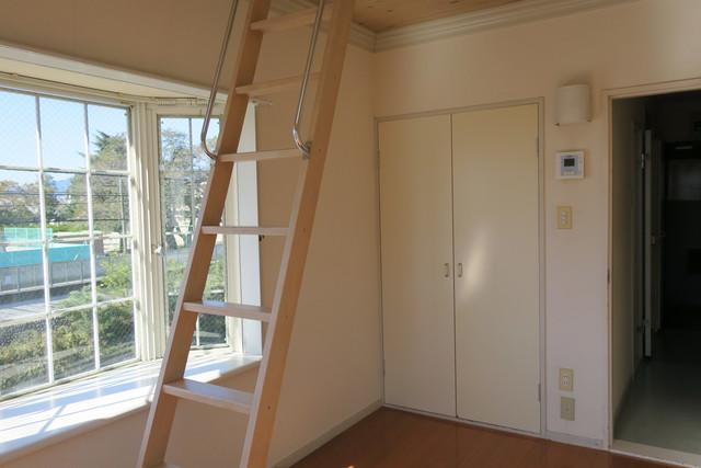 アルファレス昭和町 201号室のベッドルーム