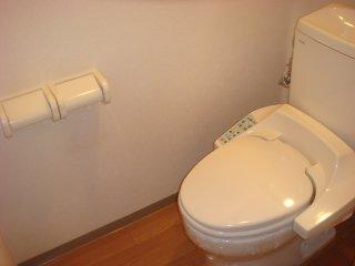 アルカディア 205号室のトイレ