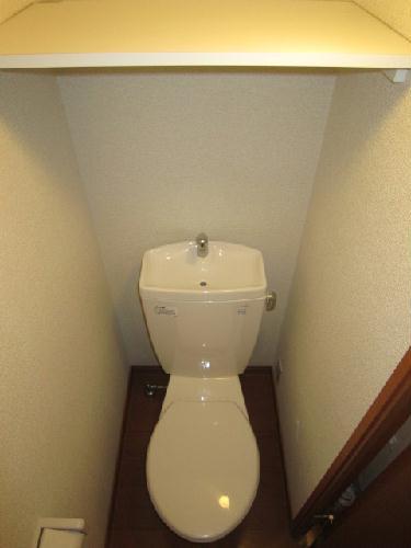 レオパレスコンドル 104号室のトイレ