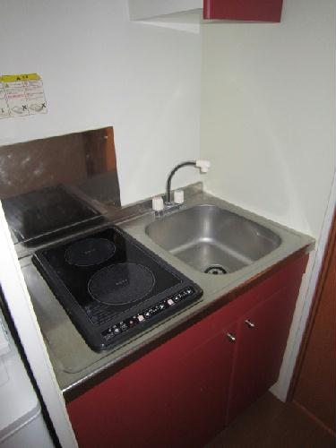 レオパレスコンドル 208号室のキッチン