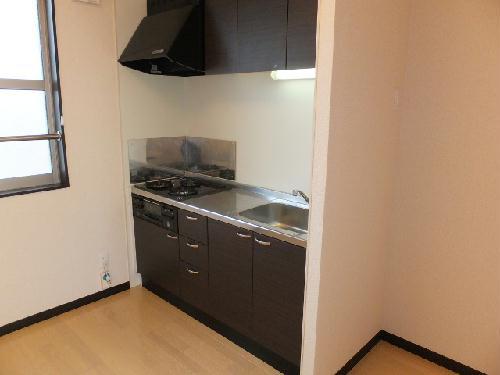 レオネクストアリオール沼田Ⅲ 106号室のキッチン