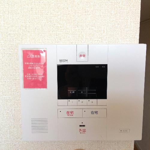 レオネクストアリオール沼田Ⅲ 106号室のセキュリティ