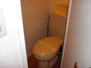 レオパレスWING 102号室のトイレ
