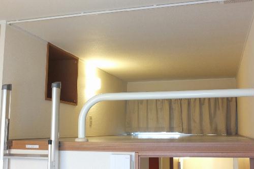 レオパレスアストル 201号室の収納
